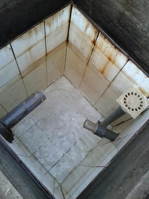 Caja de captación del manantial de Fonteculler