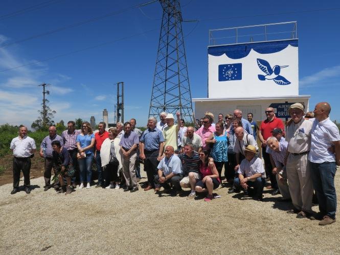 Depósito y ETAP de la Comunidad de Usuarios de A Malata, ejecutada el marco del proyecto del proyecto Life Rural Supplies
